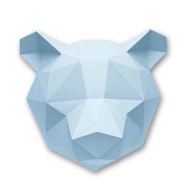 Papieren beer / Blauw