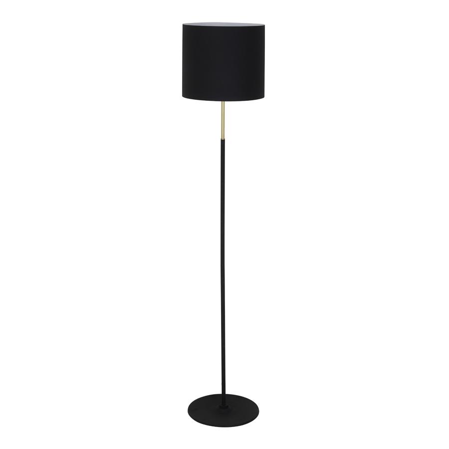 "Black floor lamp ""Ilva"""