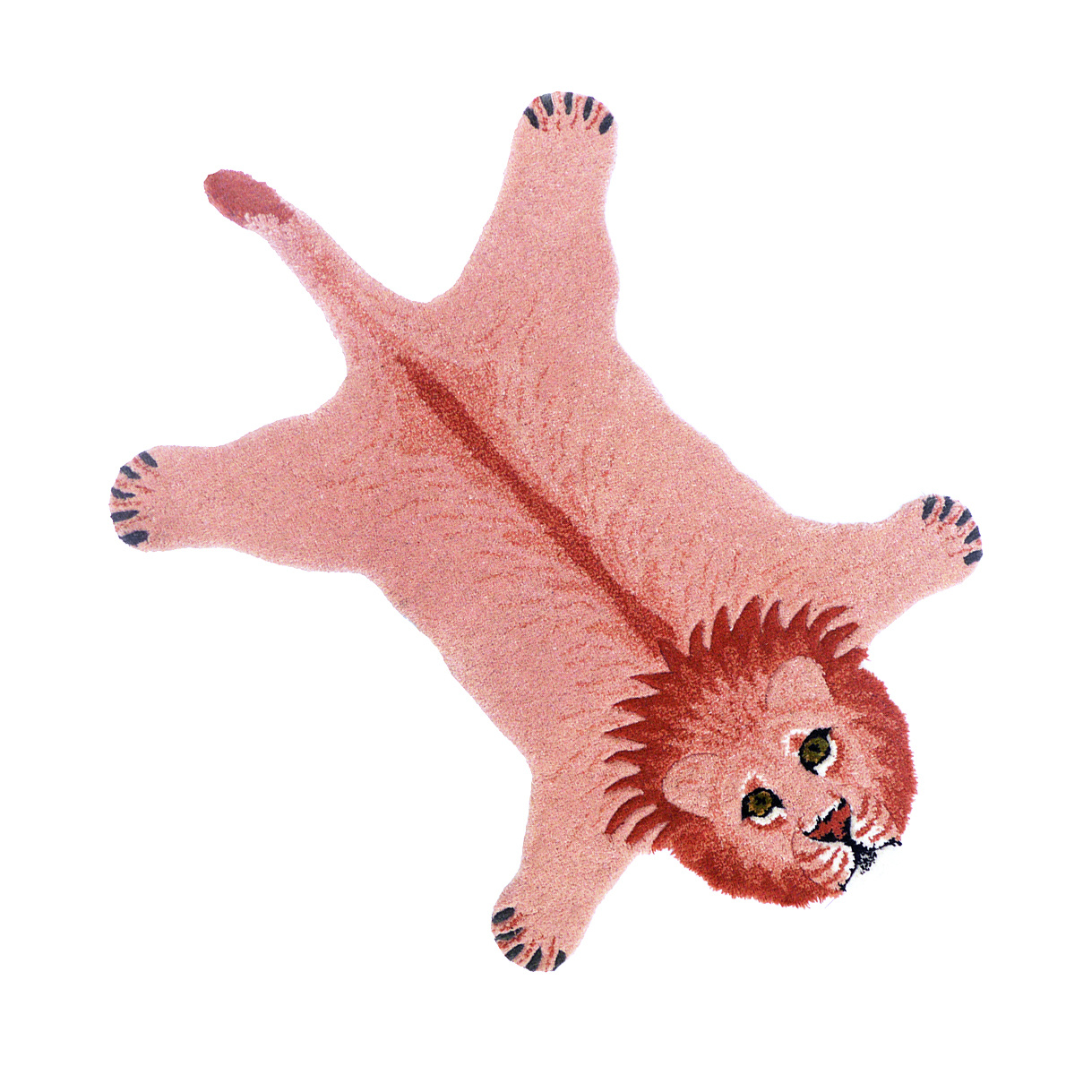Roze leeuw kleed van Doing Goods