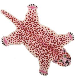 Rug / Pink Leopard / L