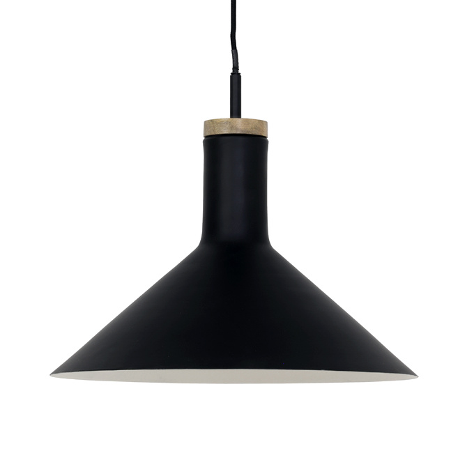 "Modern black pendant light ""Ilvar"""