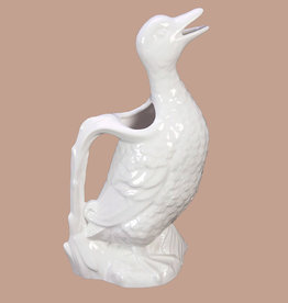 Ceramic pitcher / Duck