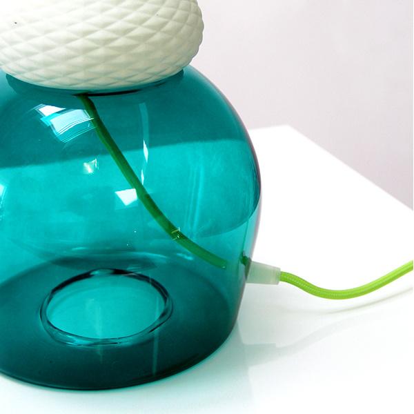 """Glazen lamp """"Maria Teresa"""" van Seletti"""