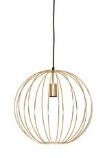 """Gold retro design pendant light """"Tine"""""""
