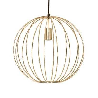 """Gouden retro design hanglamp """"Tine"""""""