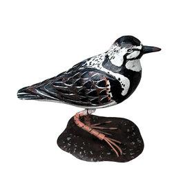 Houten vogel beeld / Plevier