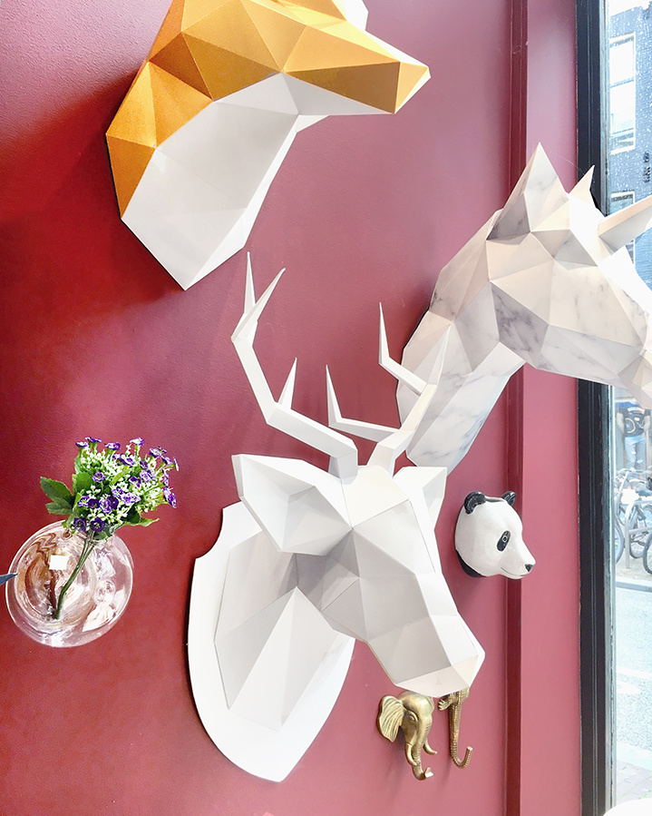 Diy paper deer trophy