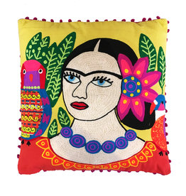 Cushion / Frida / Yellow