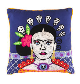 Cushion / Frida / Blue
