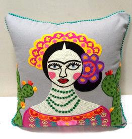 Cushion / Frida / Grey