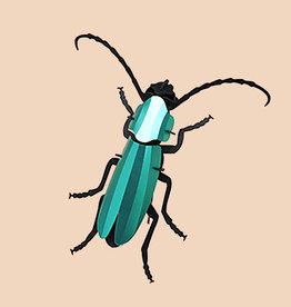 Paper Rosalia Beetle / Green