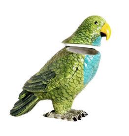 Ceramic parrot box