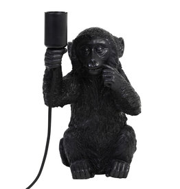 Zwarte aap lamp