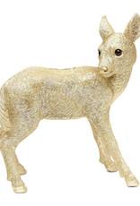 Gold deer coin bank