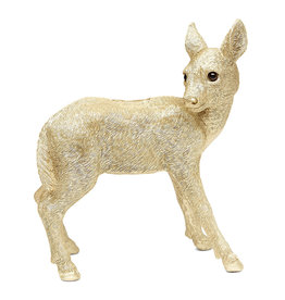 Gold deer coin bank