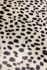 Faux leopard fur skin