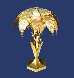 Gouden palm lamp