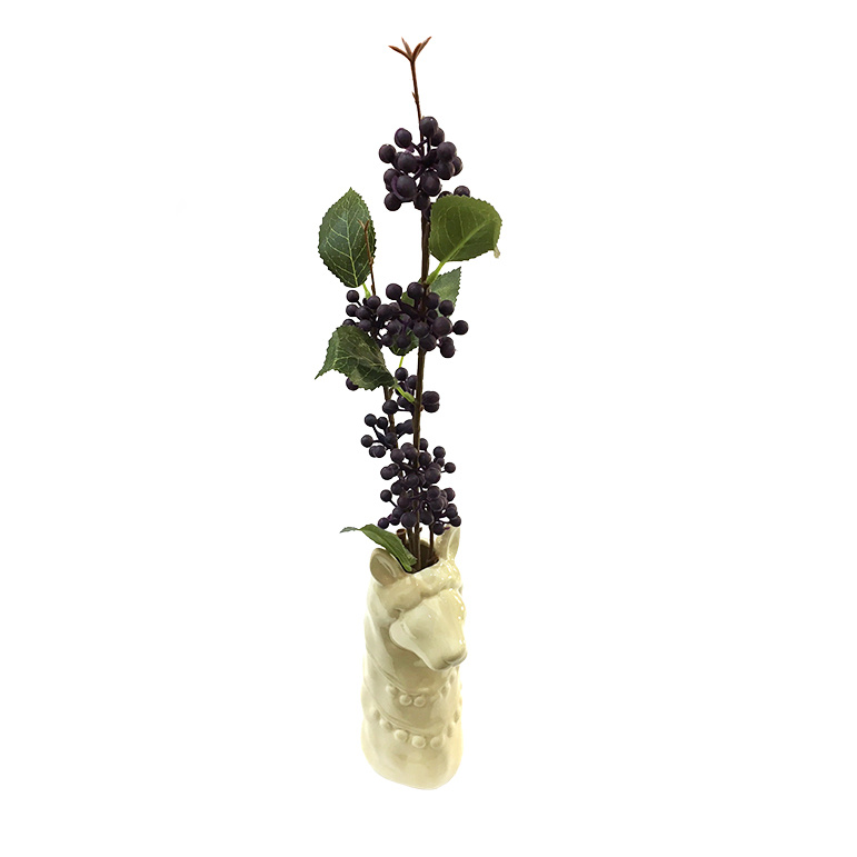 Ceramic lama vase