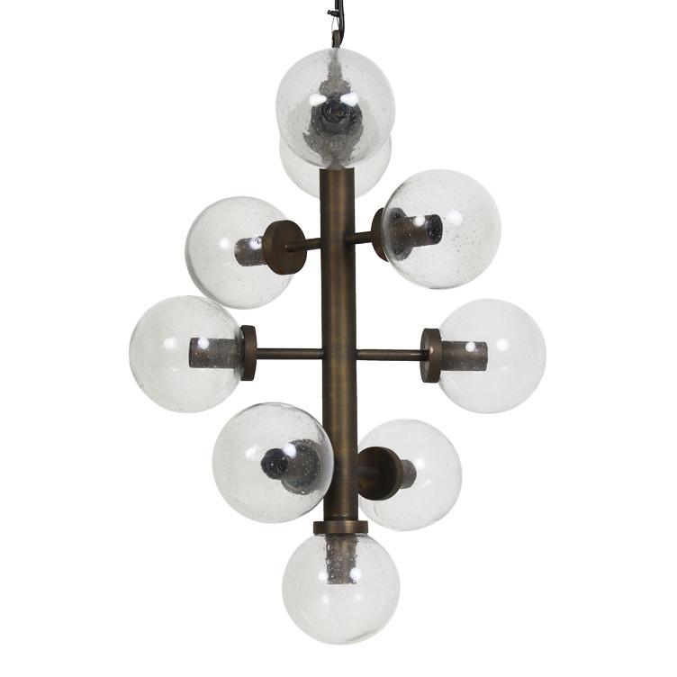"Luxe retro vintage design stijl hanglamp ""Boli"""