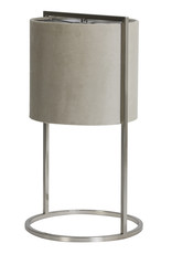 "Fluweel met chroom tafellamp ""Ceylo"""