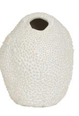 Design vaas van keramiek in de vorm van een koraal