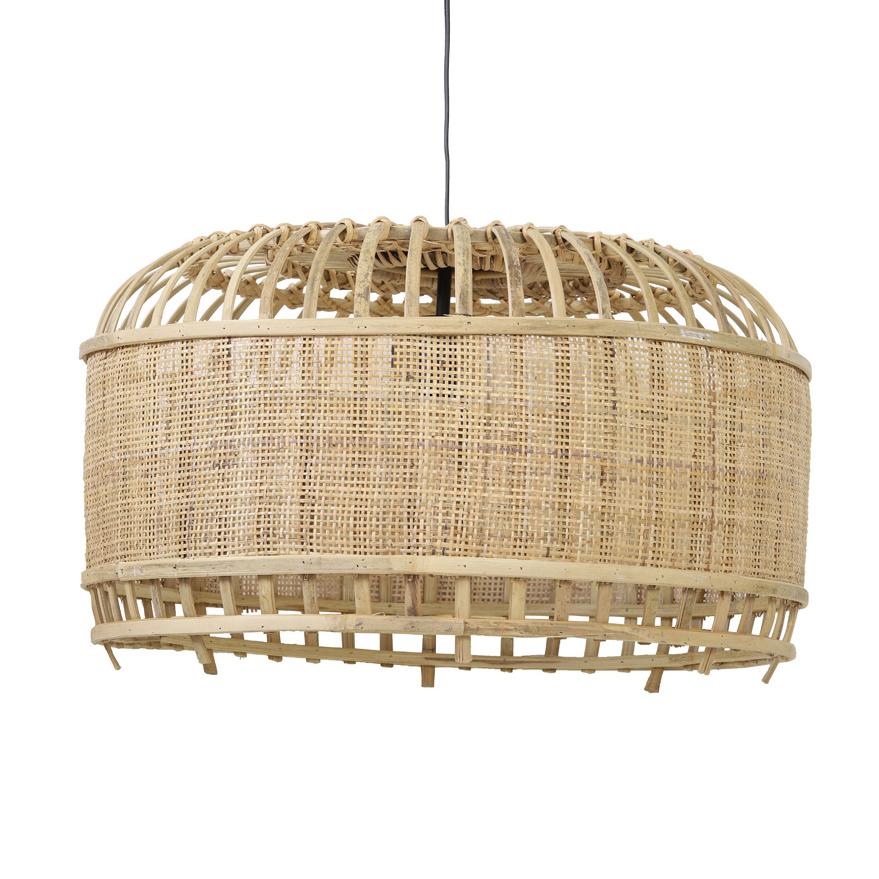 """Modern design bamboe pendant light """"Kalida"""""""