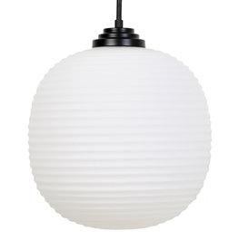 Hanglamp van melkglas - L