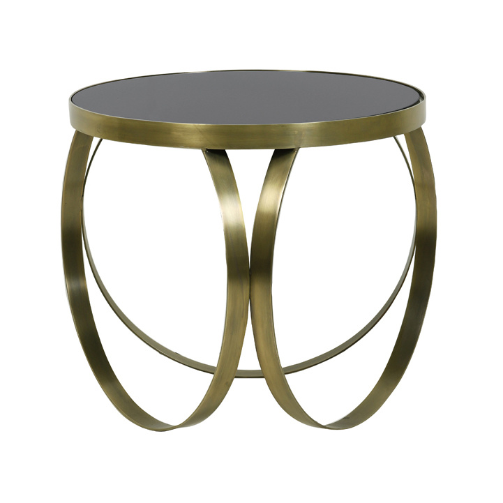 "Vintage retro design style side table ""Circles"""