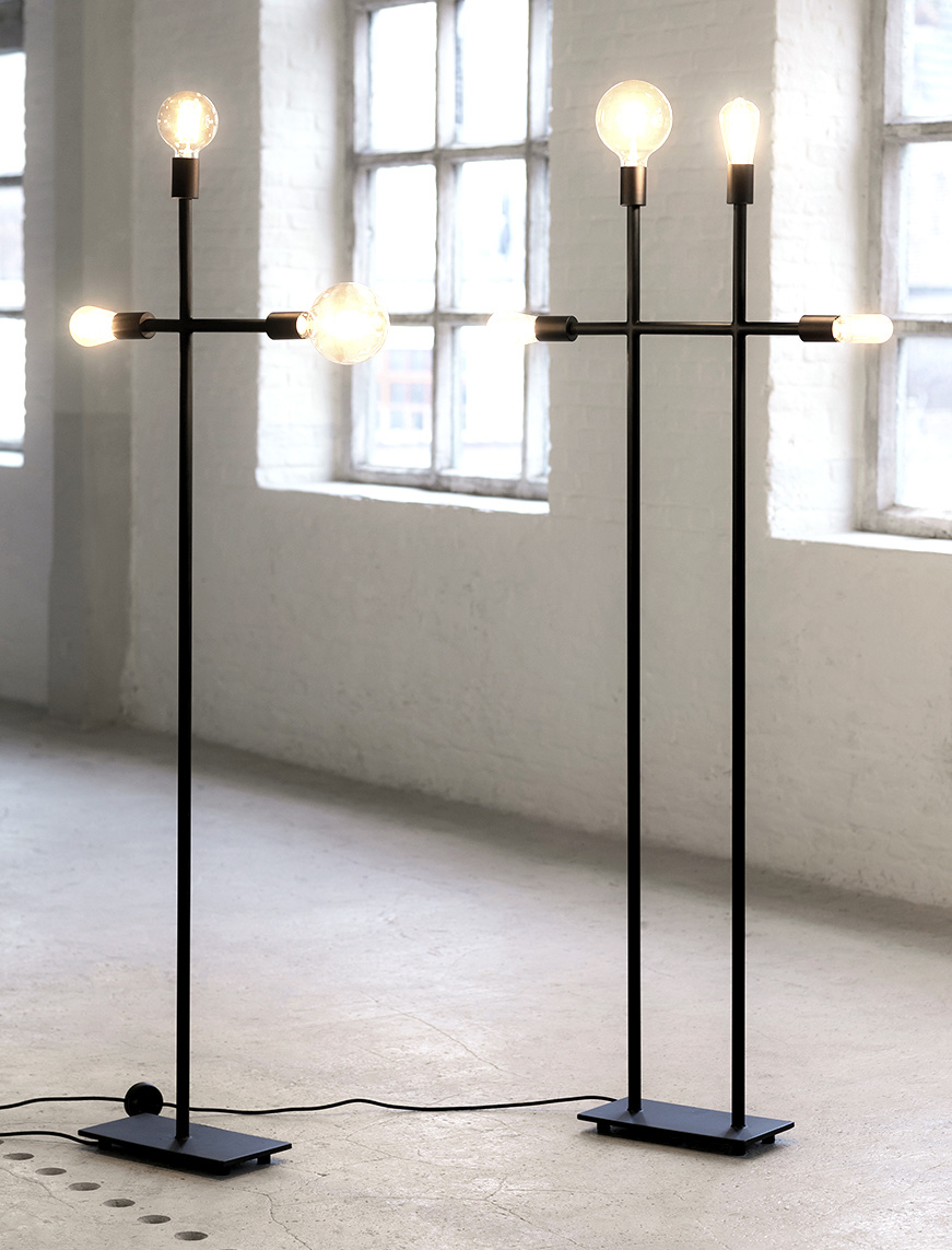 """Moderne en strakke design vloerlamp """"Kros"""""""