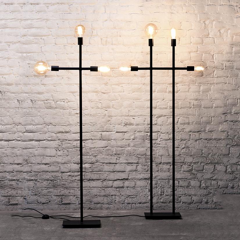 """Moderne en strakke design vloerlamp """"Kross"""""""