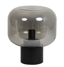 """Tafellamp """"Ninko"""" laag - zwart"""