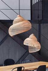 """Moderne rotan design hanglamp """"Shell"""""""