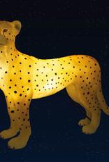 Design tafellamp in de vorm van een luipaard