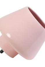 Pink ceramic table lamp