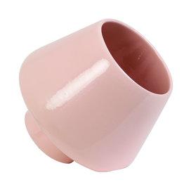 Tafellamp van keramiek / Roze / L