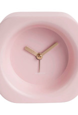 Modern design alarm clock in pink