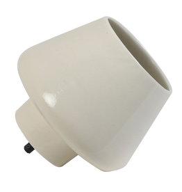 Tafellamp van keramiek / Creme / L