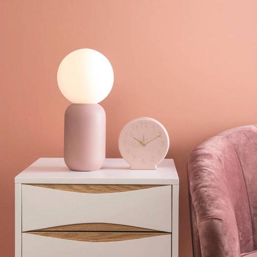 "Grey table lamp ""Gala"""