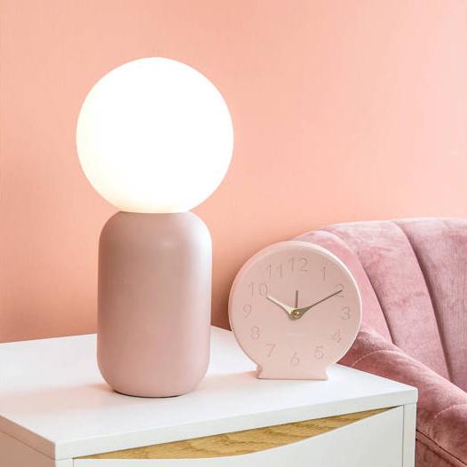 "Zwarte design tafellamp ""Gala"""
