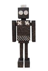 Houten robot object