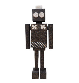 Wooden robot object