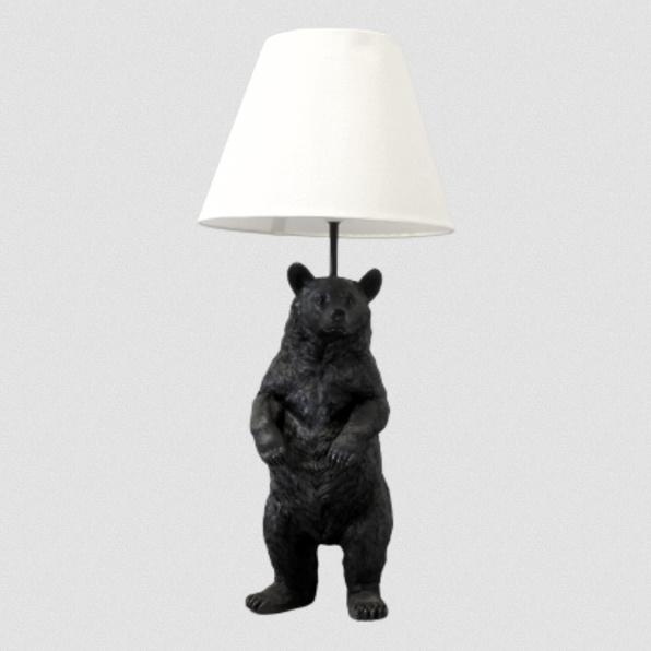 Design tafellamp in de vorm van een beer