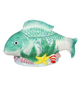 Vis voorraadpot