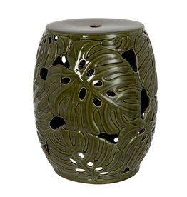 "Ceramic stool ""Tropical"""
