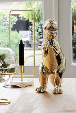 Gouden dino T-rex plantenpotje