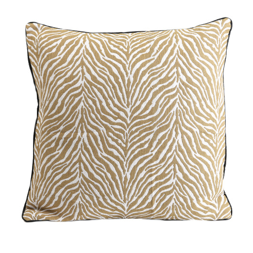 Cushion  with zebra print