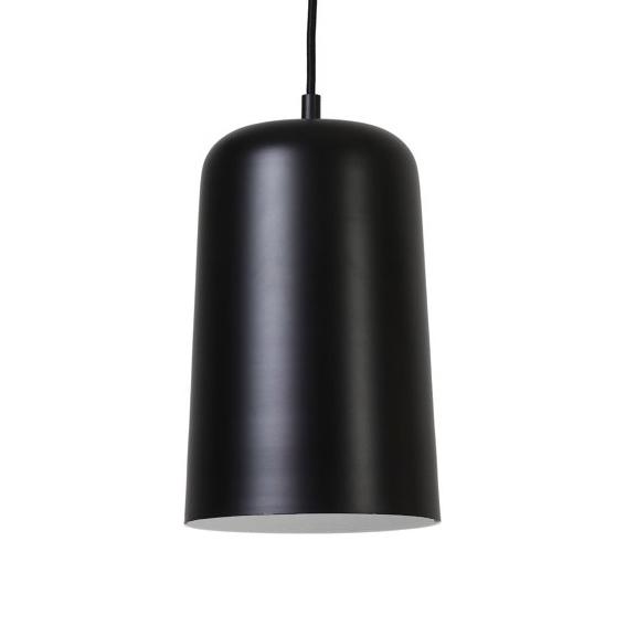 """Design hanglamp van zwart metaal """"Luca"""""""