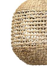 Modern rattan and bamboo pendant light