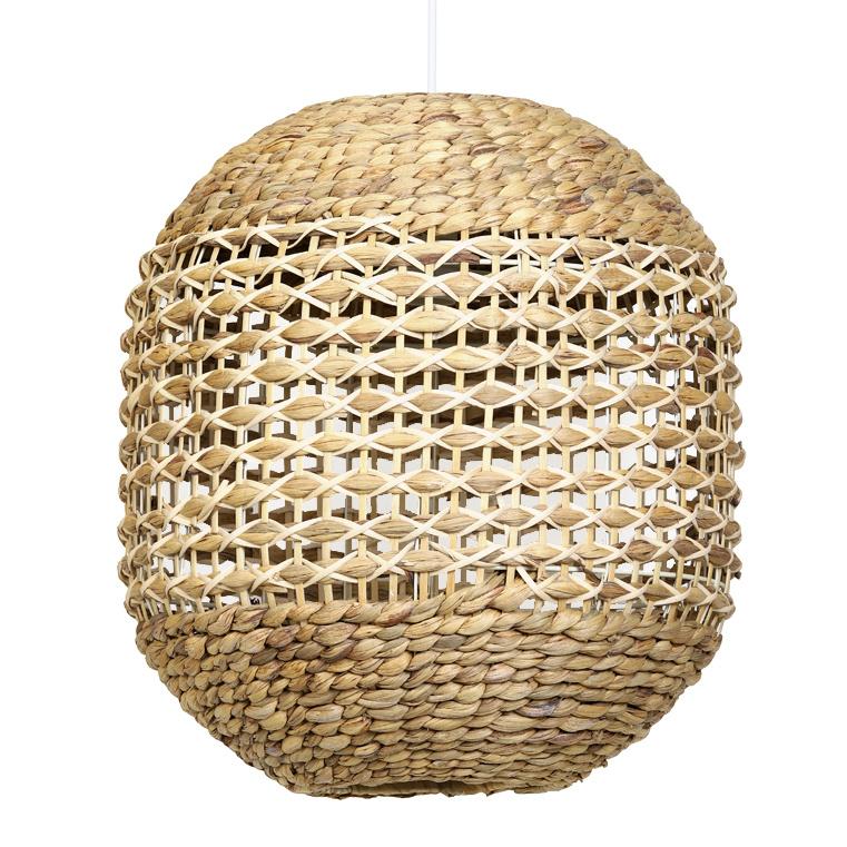 Moderne rotan en bamboe hanglamp
