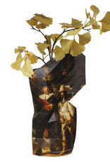 Paper vase with the Nightwatch print